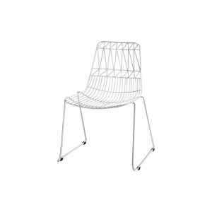 White Simplicity Chair Hire
