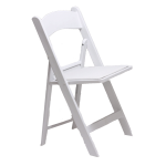 White Resin Chair Hire