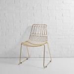 Gold Simplicity Chair Hire