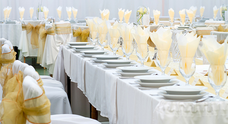 Crockery Hire London